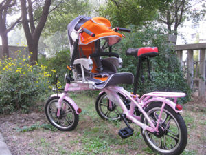 Multifunctional Mother and Baby Tricycle Bike