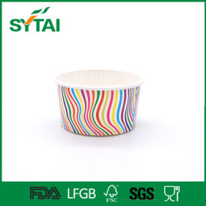Disposable Custom PE Coated Ice Cream Paper Cup Bowl with Fruit Pattern pictures & photos