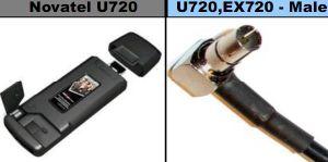 Connector for The Modem Novatel U720/Ex720/S720