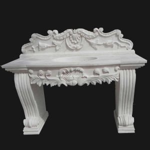 White Stone Carving Basin (BSN321) pictures & photos