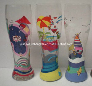 Hand-Made and Handpainted Beer Glass (B-721abcd) pictures & photos