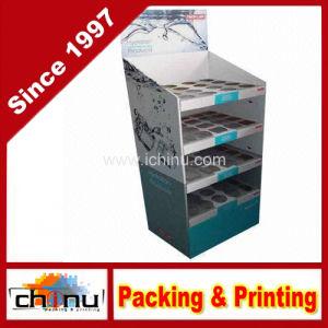 Cardboard Floor Display Cabinet (6127) pictures & photos