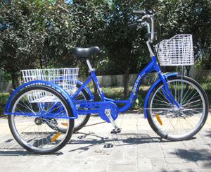 "New Developed with Rear Disc Brake 24"" Tricycle (FP-TRCY036) pictures & photos"