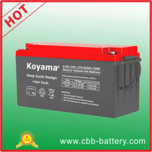 12V Electric Vehicle Battery 150ah for Electric Hybred Trucks pictures & photos