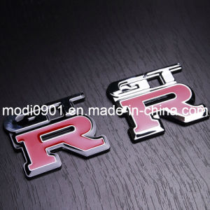 ABS Car Body Sticker with 3m Adhesive 2015 Manufacture Wholesale ABS Plastic Chrome Sticker Car Badge Emblem pictures & photos