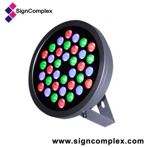 36W Round LED Wall Washer Light