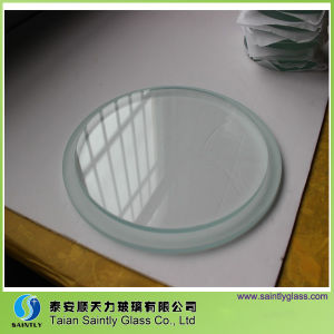 5mm-12mm Round Clear Float Tempered Steped Glass for Lighting pictures & photos