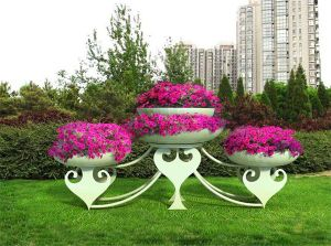 The Square Landscape Flower Shelf