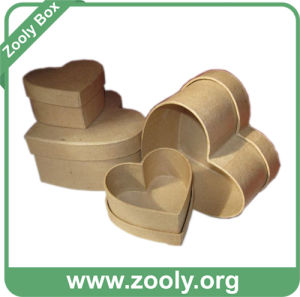 Brown Color Plain Nested Cardboard Paper Gift Box (ZC006) pictures & photos