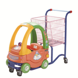 Zinc and Powder Coating Kids Shopping Trolley Manufacturer in China pictures & photos