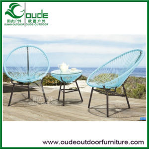 Outdoor Rattan Egg Chair Garden Wicker Furniture