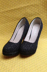 Glitter PU Fabric for Lady Shoes