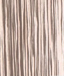China Zebrano Wood Veneer (WZ112S) - China Engineered ...