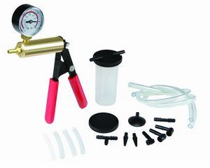 Brake Bleeder and Vacuum Pump Kit