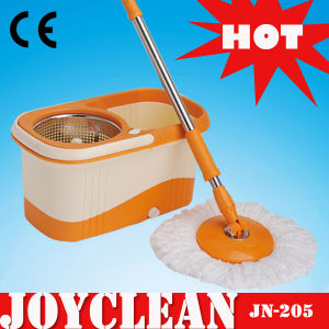 Joyclean Pedal Free Double Device 360 Degree Spin Magic Mop (JN-205) pictures & photos