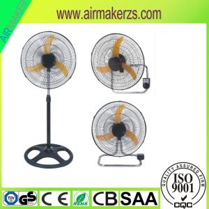 18 Inch 3 in 1 Stand Fan Table Fan Wall Fan with Ce/Rohs pictures & photos