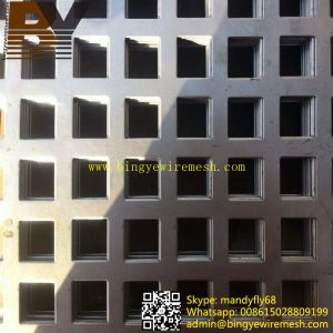 Stainless Steel Perforated Wire Mesh pictures & photos