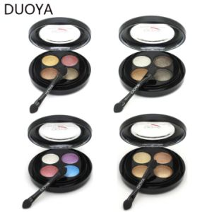 Mineral 4 Color Waterproof Eyeshadow Powder Makeup Matte for Eye Makeup pictures & photos