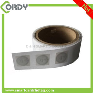 13.56MHz FM11RF08 round small RFID sticker tag pictures & photos