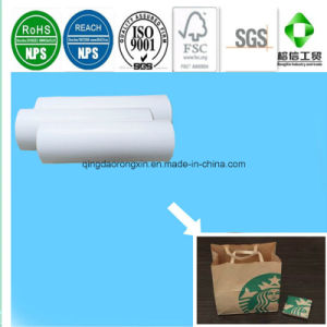 PE Coated Paper for Starbucks Packaging Bag pictures & photos