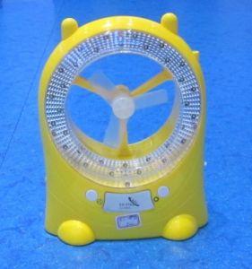 Rechargeable LED fan light