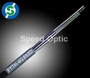 High Quality Lszh FTTH Drop Fiber Cable
