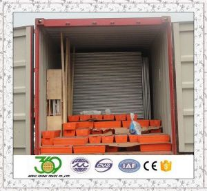 32mm Od Pipe Hot Dipped Galvanized Temporary Fencing pictures & photos