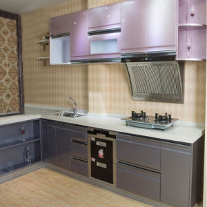 Modern High Gloss UV Kitchen Cabinet Bck-K075 pictures & photos