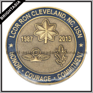 Custom Challenge Coin for Commemorative Military USA Souvenir (BYH-10810) pictures & photos