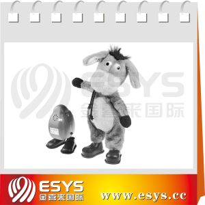 Singing and Dancing Donkey Plush Toy