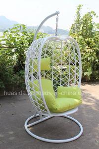UV Resistant Aluminum Rattan Beach Hanging Chair pictures & photos