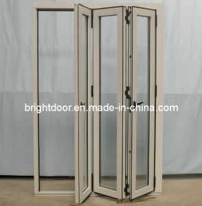 Exterior Commercial Folding Door with Heat Insulation and Sound Proof From Guangzhou pictures & photos