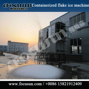 100t Flake Ice Machine Concrete Flake Ice Machine Supplier pictures & photos