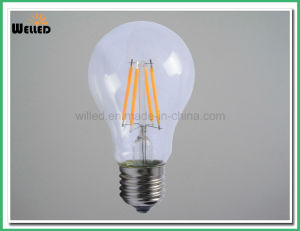 Edison Bulb A60 LED Filament Lights 2W 4W 6W 8W Vintage LED Bulb Lighting E27 E14 B22 Base pictures & photos