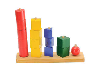 Wooden Block Toy Chess Game (CB1056) pictures & photos