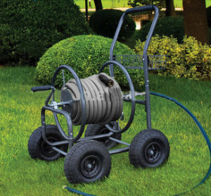 Four Wheels Water Hose Reel for Sale pictures & photos