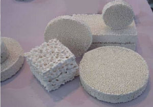 SGS Alumina Ceramic Foam Filter Used in Alumina Casting pictures & photos