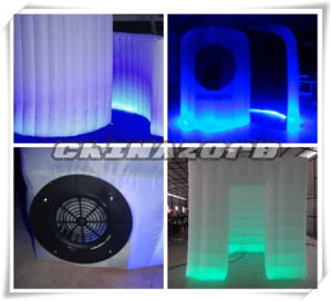 Gorgeous Colorful Glow Inflatable Photo Booth Factory Price