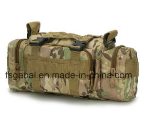600d Muntifunctional 3p Tactical Waist Bag, Camera Bag pictures & photos