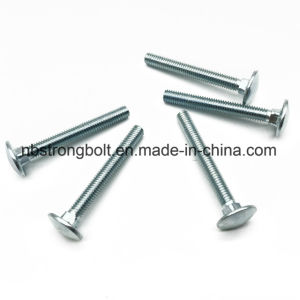 Round Head Square Neck Bolt DIN603 Carriage Bolt, Cl. 8.8 with Zinc Plated Cr3+ pictures & photos