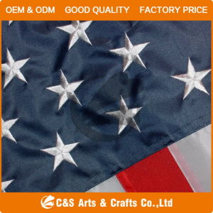 Custom USA Embroidery Flag, Embroidery American Flag pictures & photos