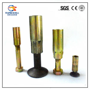 Forged Alloy Steel Crown Foot Lifting Anchors with Sockets pictures & photos