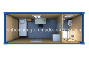 Container Dorm with Shower Cabin (shs-fp-dormitory015) pictures & photos