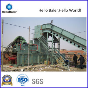Automatic Waste Paper Press Machine with Conveyor pictures & photos