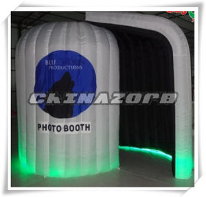 Gorgeous Colorful Glow Inflatable Photo Booth Factory Price pictures & photos