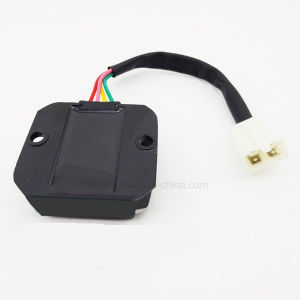 Ww-6369 Motorcycle Part Four Wire Regulator Rectifier for Gy6 pictures & photos