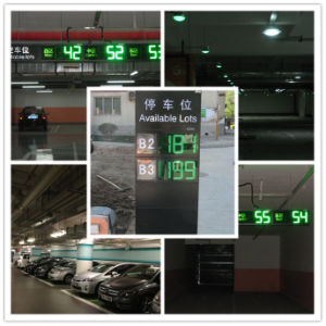 Indoor Parking Guidance Solution RS485 Ultrasonic Sensor