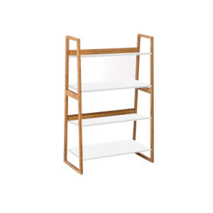 Bamboo Furniture Bamboo Bookshelf Storage Rack Shelf pictures & photos