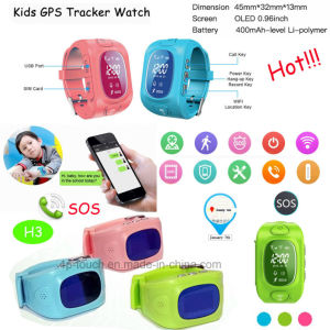 Hot Selling Kids GPS Tracker Watch with GPS+Lbs+WiFi (H3) pictures & photos