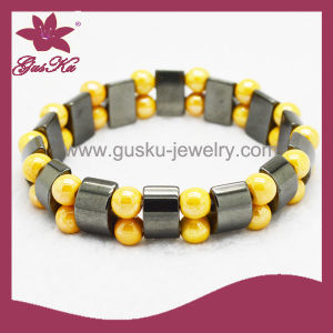 Fashion Silicone Beads Bracelet (2015 Htb-100) pictures & photos